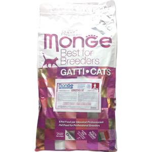 Сухой корм Monge Cat Sensitive Rich in Chicken с курицей для кошек чувствительным пищеварением 10кг