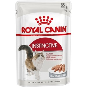 Паучи Royal Canin Instinctive Adult Cat Mousse паштет для взрослых кошек 85г (483601)