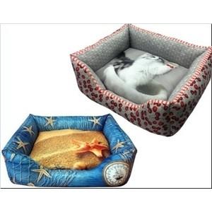 Лежанка PerseiLine 3D ОТ КУТЮР №3 50*40*16см цвета в ассортименте для кошек и собак (ЛД-300)