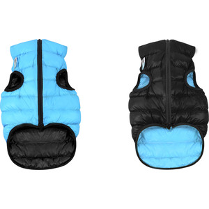 цена на Курточка CoLLaR AiryVest двухсторонняя черно-голубая размер L 65 для собак (1639)