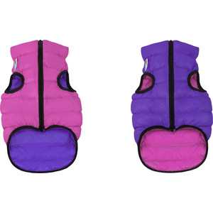 Курточка CoLLaR AiryVest двухсторонняя розово-фиолетовая размер S 40 для собак (1581) фото