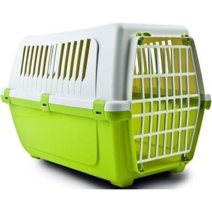 Переноска MP-Bergamo Vision Classic 50 с пластиковой дверцей для животных 48*32*33см (87478) цена и фото