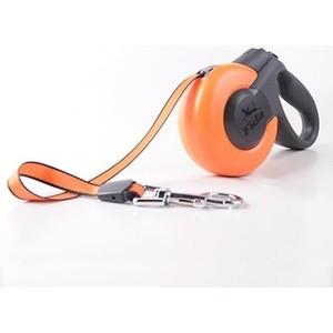 Рулетка Fida Ranger Mars XS лента 3м оранжевая/черная для собак до 12кг fida fida mars рулетка 3м лента для собак мелких пород до 12 кг оранжевая черная