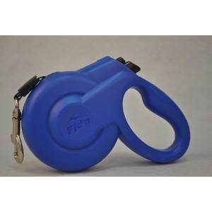 Рулетка Fida Ranger Styleash S шнур 5м голубая для собак до 15кг
