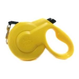 Рулетка Fida Ranger Styleash M шнур 5м желтая для собак до 25кг