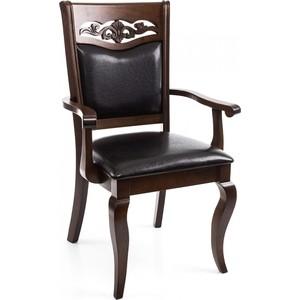 Кресло Woodville Drage cappuccino.