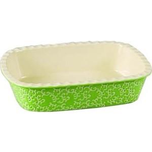 Форма для запекания 30х22х7.5см Appetite прямоугольная зеленый (YR2026A-12)