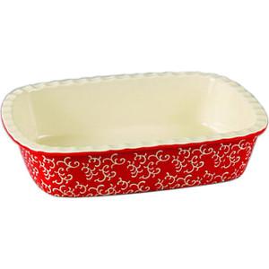 Форма для запекания 30х22х7.5см Appetite прямоугольная красный (YR2026Q-12)