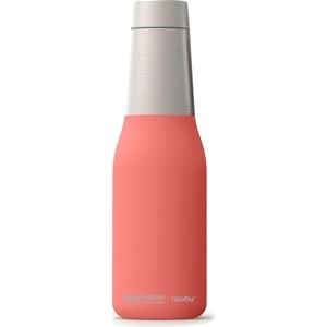 Термобутылка 0.59 л Asobu Oasis розовая (SBV23 peach) термобутылка asobu the mighty flask цвет красный 1 1 л