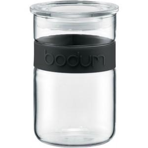 Банка для хранения 0.6 л Bodum Presso черная (11129-01)