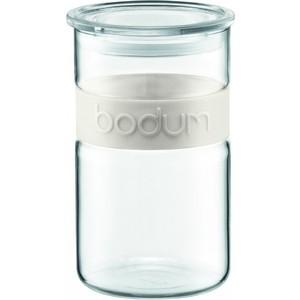 Банка для хранения 1 л Bodum Presso белая (11099-913)