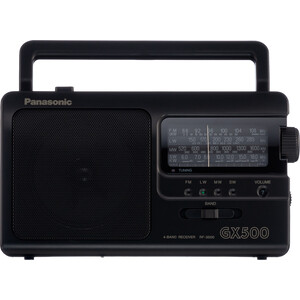 лучшая цена Радиоприемник Panasonic RF-3500E9-K