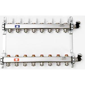 Коллекторная группа Uni-Fitt 1х3/4 8 выходов с регулировочными и термостатическими вентилями (451I4308) коллекторная группа uni fitt 1х3 4 5 выходов с регулировочными и термостатическими вентилями 451i4305