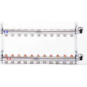 Коллекторная группа Uni-Fitt 1х3/4 11 выходов с регулировочными и термостатическими вентилями (451I4311)