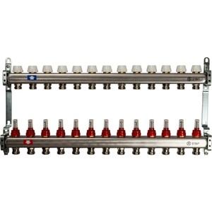 Коллекторная группа STOUT 1х3/4 13 выходов с расходомерами (SMS 0917 000013) коллекторная группа stout 1х3 4 4 выходов с расходомерами sms 0917 000004