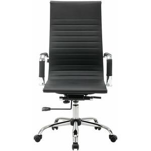 Кресло офисное Brabix Energy EX-509 рециклированная кожа хром черное 530862 кольца алькор 01 1347 00gr 00