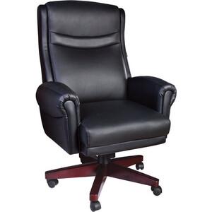 Кресло офисное Brabix Gladiator EX-700 дерево натуральная кожа черное 530872