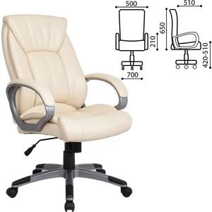 Кресло офисное Brabix Maestro EX-506 экокожа бежевое 531168