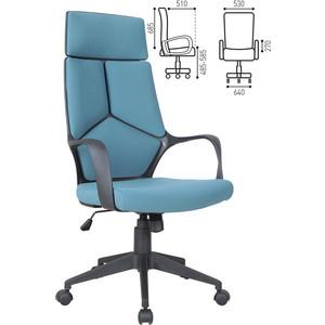 Кресло офисное Brabix Prime EX-515 ткань голубое 531568