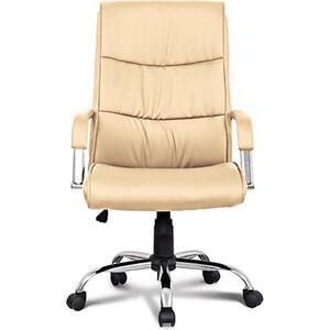Кресло офисное Brabix Space EX-508 экокожа хром бежевое 531165 кресло офисное brabix space ex 508 цвет коричневый 531164