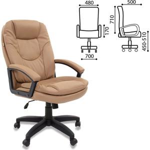 Кресло офисное Brabix Trend EX-568 экокожа бежевое 531397