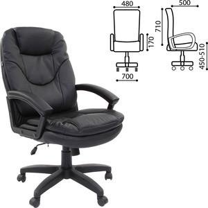 Кресло офисное Brabix Trend EX-568 экокожа черное 531395 takasima cy 106s