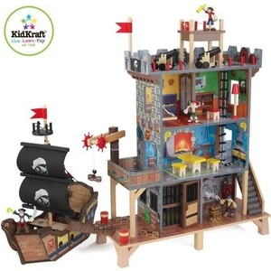 KidKraft Набор Пиратский форт (63284_KE)