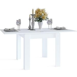 Стол обеденный СОКОЛ СО-2 белый сокол обеденный стол сокол со 1м венге g ihqdb6