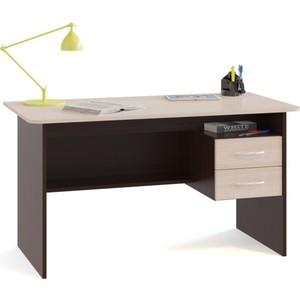Стол письменный СОКОЛ СПм-07.1 венге/беленый дуб стол обеденный сокол со 1 венге беленый дуб
