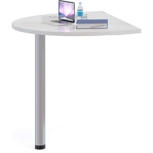 Стол приставной СОКОЛ СПР-03 белый цена и фото