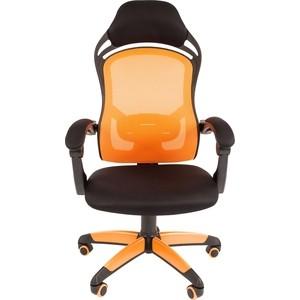 Офисноекресло Chairman game 12 черно-оранжевый куртка proffi sport ph8784borange xl черно оранжевый 50 размер