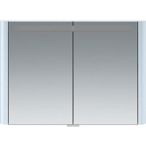 Зеркальный шкаф Am.Pm Sensation 100 с подсветкой, светло-голубой (M30MCX1001BG) фото
