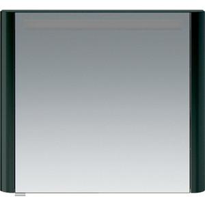Зеркальный шкаф Am.Pm Sensation 80 правый, с подсветкой, антрацит (M30MCR0801AG) зеркальный шкаф vigo mirella 80 с подсветкой белый