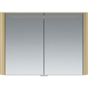 Зеркальный шкаф Am.Pm Sensation 100 с подсветкой, нуга (M30MCX1001NG) зеркальный шкаф с подсветкой am pm sensation m30mcr0801ng