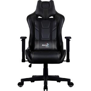 купить Кресло для геймера Aerocool AC220 AIR-B черное с перфорацией по цене 18489.5 рублей