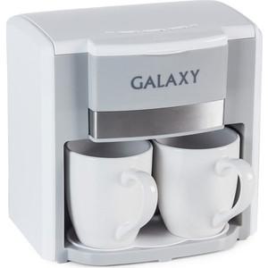 Кофеварка GALAXY GL 0708 белый цена