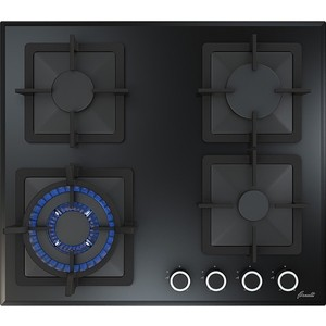 Газовая варочная панель Fornelli PGT 60 CALORE BL индукционная варочная поверхность fornelli pi 45 inizio bl