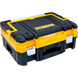 Ящик DeWALT TSTAK I DWST двухсекционный тележка со складной ручкой dewalt tstak 104 3х54 6х59 см
