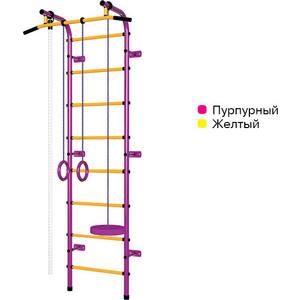 Детский спортивный комплекс Пионер С1НМ пурпурно/жёлтый фото