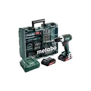 Аккумуляторная дрель-шуруповерт Metabo BS 18 LT Set (602102600) цены