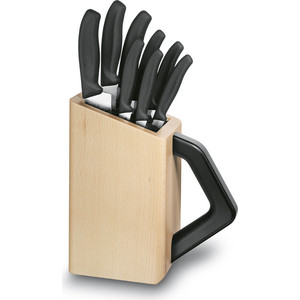 Набор ножей 8 предметов Victorinox (6.7173.8) набор столовых ножей victorinox swissclassic 6 предметов синий