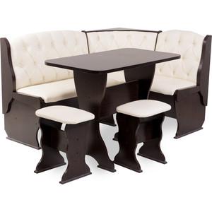 Набор мебели для кухни Бител Орхидея - люкс (венге, Борнео крем, венге)