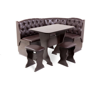 Набор мебели для кухни Бител Орхидея - люкс (венге, Борнео умбер, венге)