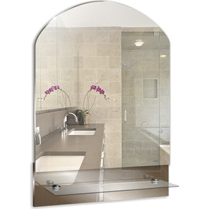 Зеркало Mixline Амели 390х565 с полкой (4620001980062) зеркало mixline сириус люкс 490х670 с полкой и фацетом 4620001980925