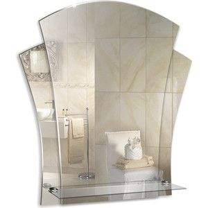 Зеркало Mixline Лилия 480х550 с полкой (4620001980611)