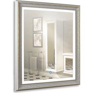 Зеркало Mixline Марсель серебро 630х780 сенсорный выключатель, багет (4620001985012)