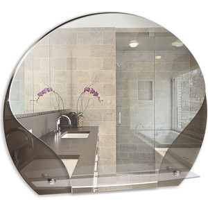 Зеркало Mixline Арена 620х520 с полкой (4620001980130)