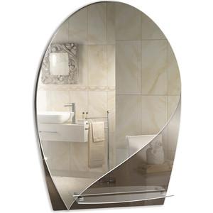 Зеркало Mixline Грация 510х730 с полкой (4620001980383) зеркало mixline волна люкс 470х685 с полкой и фацетом 4620001980307