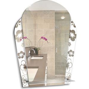 Зеркало Mixline Нарцисс 535х735 с полкой (4620001980727)