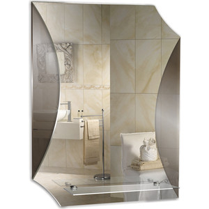 Зеркало Mixline Парус 49,5х68,5 с полкой (4620001980789) фото